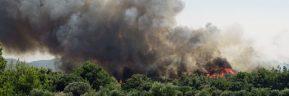 Φωτιά στη Ρόδο: Ενεργοποιήθηκε η υπηρεσία Copernicus