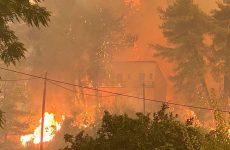 Φωτιά στην Εύβοια: Σε πύρινο κλοιό για 7η ημέρα