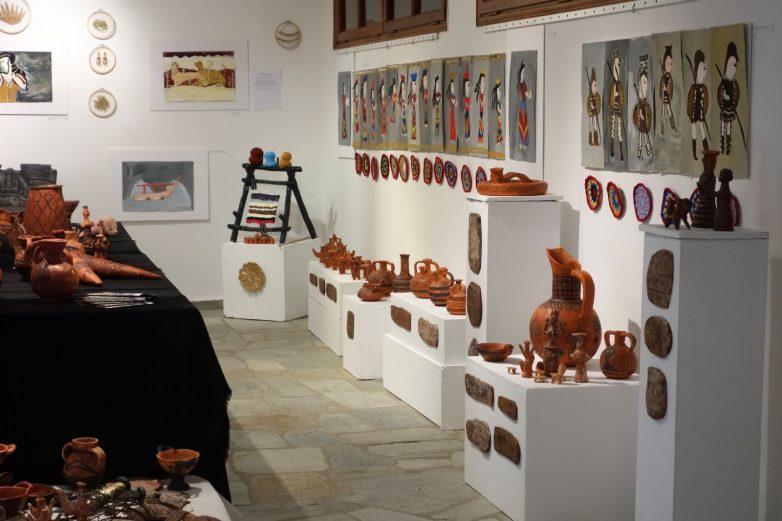 Έκθεση κεραμικής, ζωγραφικής και υφαντικής του ΚΔΑΠ ΠΡΟΣΦΥΓΙΚΩΝ της Κ.Ε.Κ.Π.Α. – Δ.Ι.Ε.Κ.