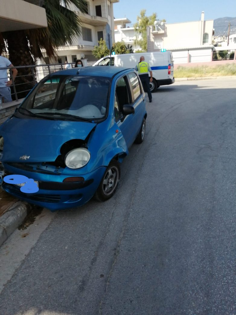 Τροχαίο ατύχημα στις Αλυκές
