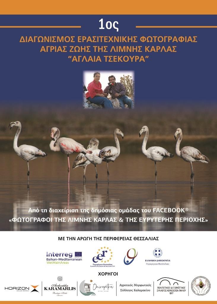 Διαγωνισμός ερασιτεχνικής φωτογραφίας άγριας ζωής της λίμνης Κάρλα