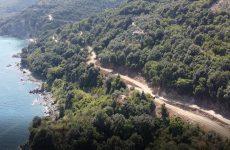 Ρακοπόταμος –Κεραμίδι: Προχωρούν οι εργασίες στον παραλιακό άξονα