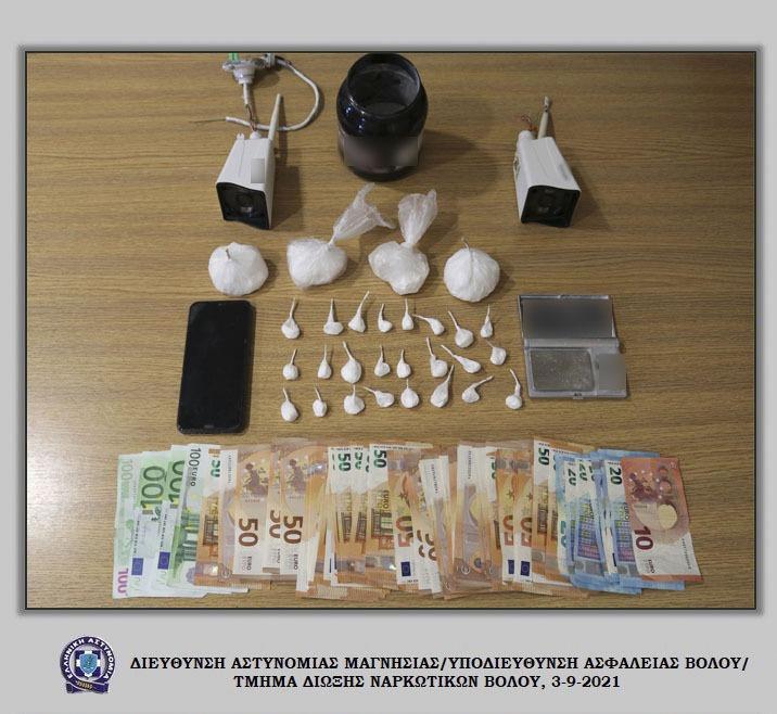 Σύλληψη αλλοδαπού με κοκαΐνη