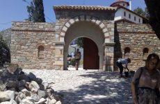 Ασφαλή πρόσβαση στην Μ. Παναγίας Οδηγήτριας  στην Πορταριά δίνει η Περιφέρεια Θεσσαλίας