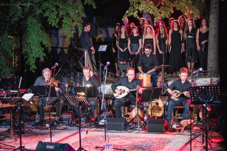 Μεγαλειώδης η μουσική παράσταση στη Μακρινίτσα