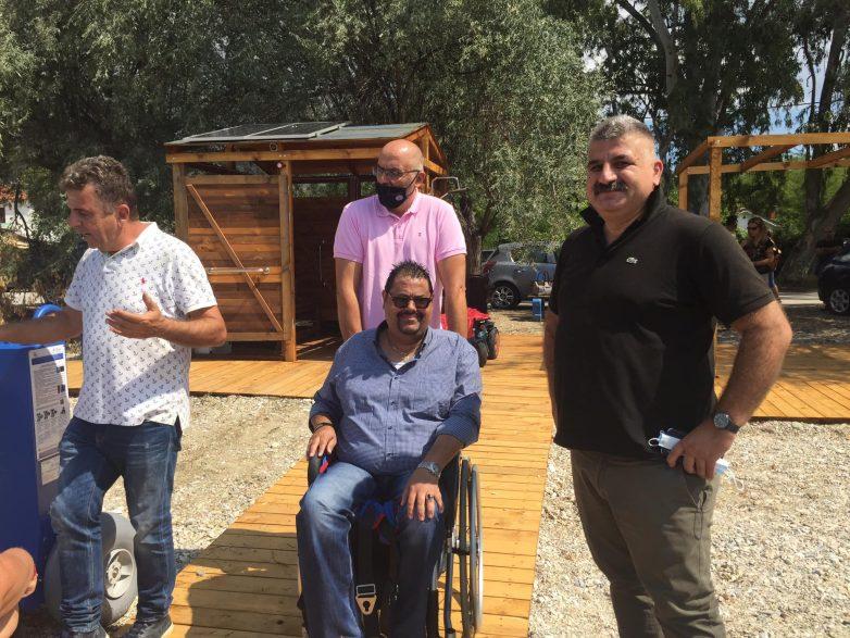 Ολοκληρώθηκε η τοποθέτηση ραμπών ΑΜΕΑ σε τέσσερις παραλίες του Δήμου Νοτίου Πηλίου