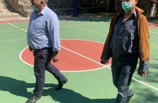 Παραδόθηκε ο ανακαινισμένος αύλειος, αθλητικός χώρος στο Γυμνάσιο Μηλεών