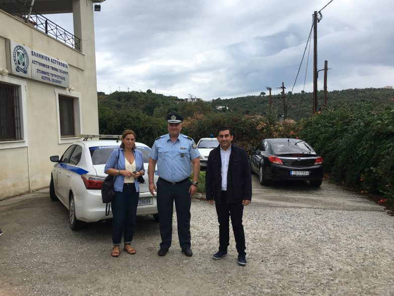 Συνάντηση διοικητή του Α.Τ. Σκιάθου με τον δήμαρχο του νησιού