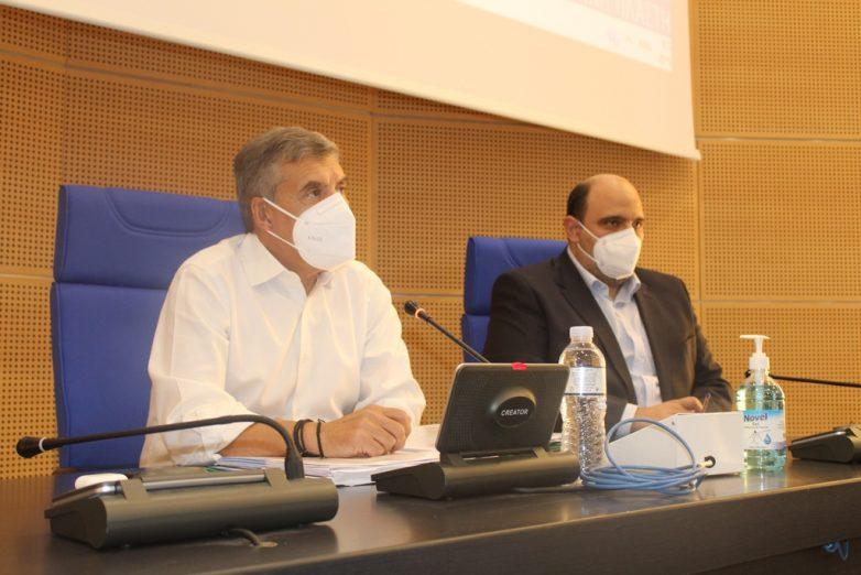 Σύσκεψη Κ. Αγοιραστού με Χρ. Τριαντόπουλο και δημάρχους για τον Ιανό
