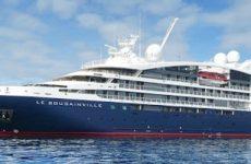 Στο λιμάνι του Βόλου το «LE BOUGAINVILLE»