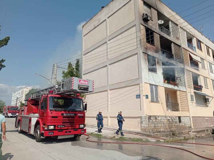 Φωτιά σε διαμέρισμα στον οικισμό Ξηροκάμπου