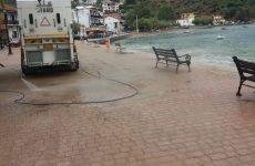 Την παραλιακή ζώνη του Πλατανιά καθάρισαν ο Δήμος Ν. Πηλίου και εθελοντές