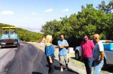 Ολοκληρώθηκαν οι εργασίες βελτίωσης του δρόμου Ευξεινούπολη –Νεοχωράκι –Νεράιδα –Ανθότοπος