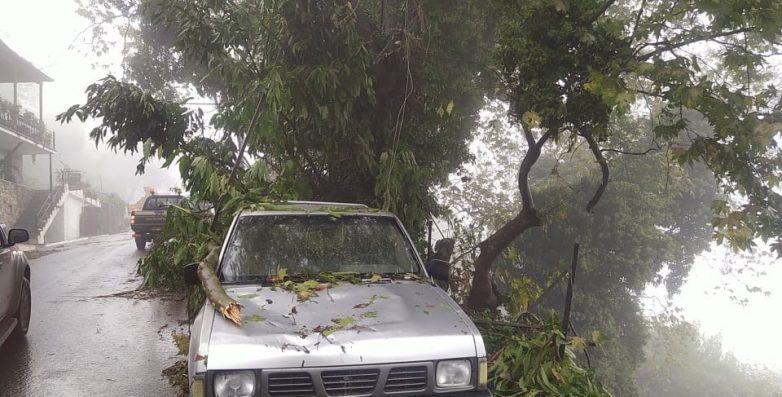 """Μεγάλες καταστροφές στη Μαγνησία  από την """"Αθηνά"""""""