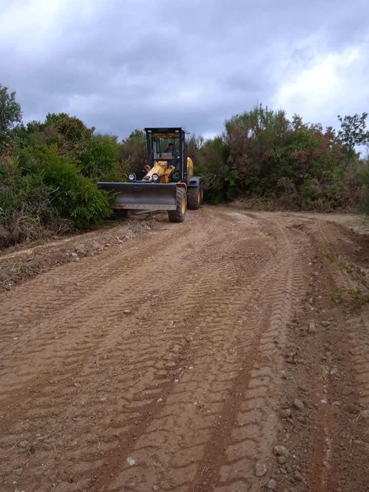 Συντήρηση και αποκατάσταση αγροτικής οδοποιίας στην τοπική κοινότητα Συκής