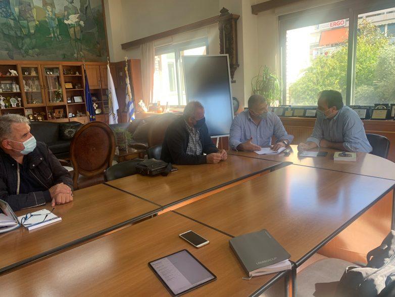 Συνάντηση εργασίας προέδρου ΚΕΔΕ-δημάρχου Νοτίου Πηλίου