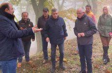 Χρ. Τριαντόπουλος: Επίσκεψη στο Πήλιο
