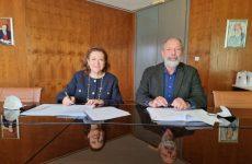 Υπογραφή πρωτοκόλλου συνεργασίας Σ.Β.Θ.Σ.Ε.-Π.Θ.
