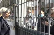 Παράσταση διαμαρτυρίας για συνδικαλιστικές διώξεις στις φυλακές της Κασσαβέτειας
