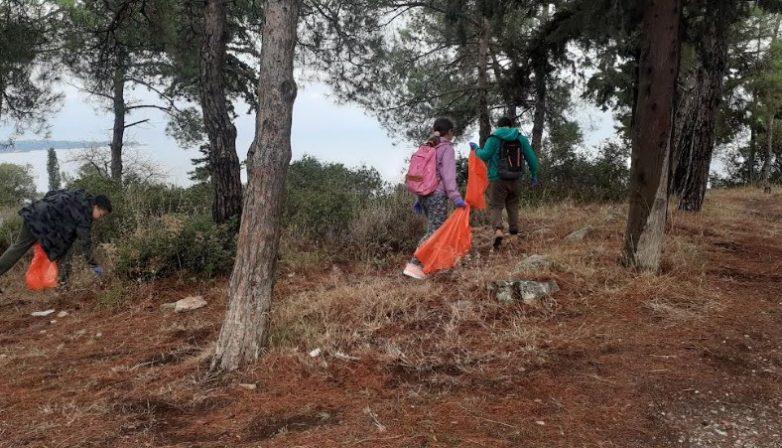 Τον λόφο της Γορίτσας καθάρισαν αθλητέςποδηλασίας της Νίκης Βόλου