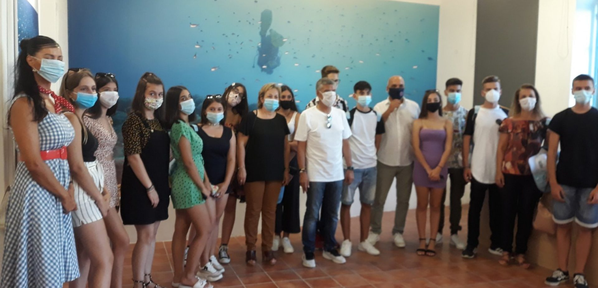 Μαθητές σχολείων της Θεσσαλίας στην Αλόννησο για εικονική κατάδυση στο ναυάγιο Περιστέρας και μαθήματα υποβρύχιας αρχαιολογίας