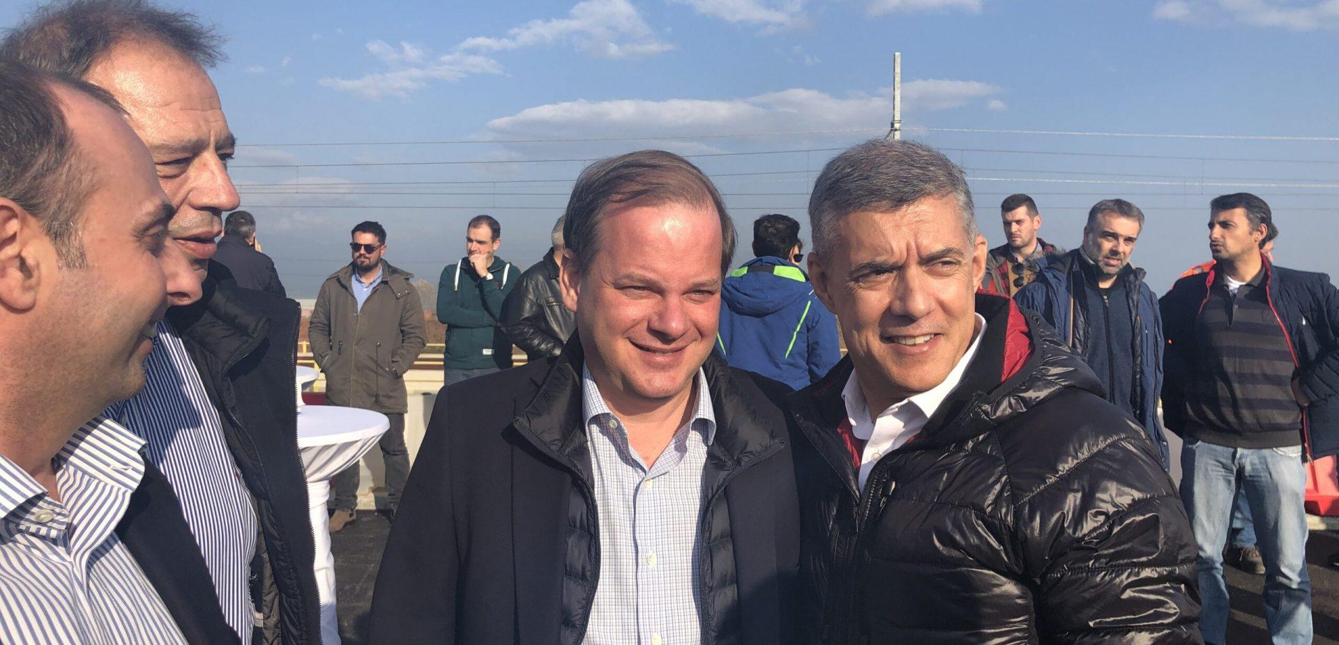 Επίσκεψη υπουργού Υποδομών Κ. Καραμανλή στη Θεσσαλία