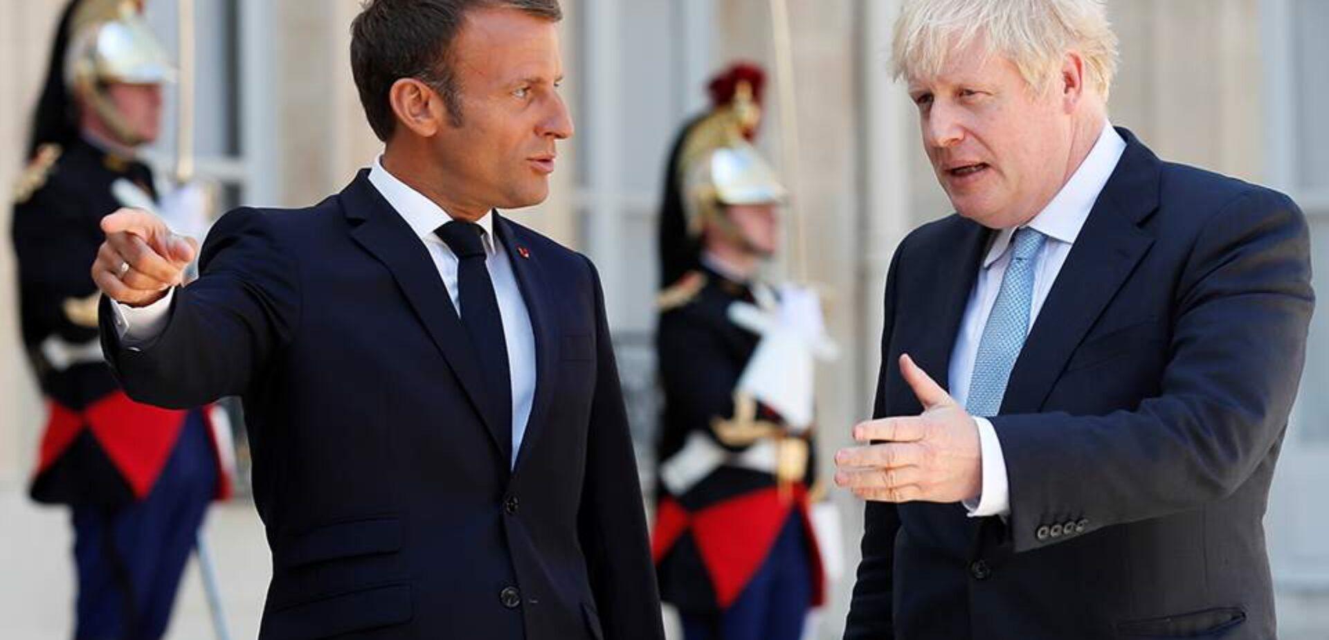 Μακρόν προς Τζόνσον: Η τύχη της Βρετανίας βρίσκεται στα χέρια σας